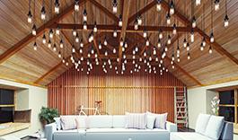 belysning loft