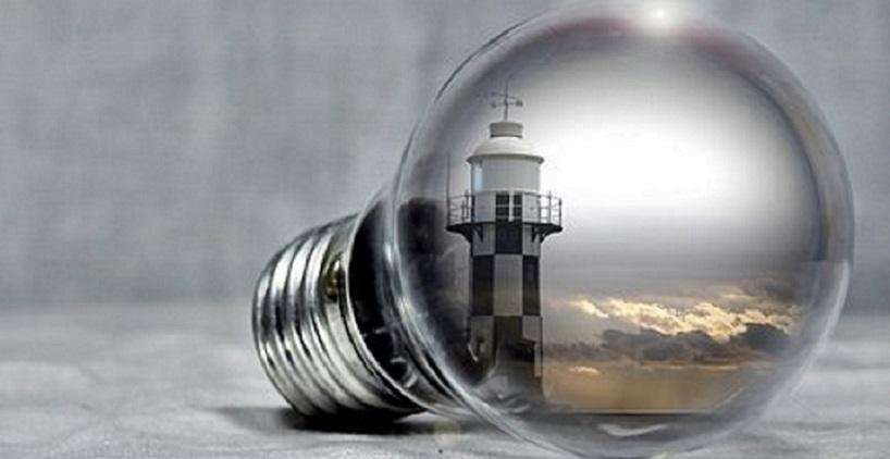 Glödlampa med fyr